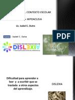 Dislexia e Hipoacusia