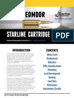 Starline Free 6.5 Creedmoor Cartridge Guide