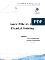 Basics of Revit - Electrical Modelling