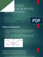 Refraccion y Dispersion de Rayos