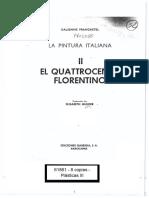Francastel    El quattrocento florentino - Prólogo