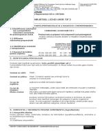 Rompetrol Rafinare Fisa Securitate Combustibil Lichid Usor Tip 3