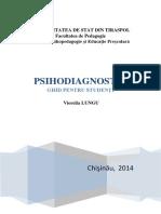 Psihodiagnostic Ghid Pentru Studenti