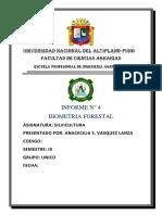 Biometria Forestal