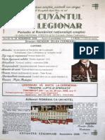 Cuvantul Legionar nr. 39, noembrie 2006