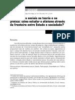 Movimentos sociais na teoria e na prática