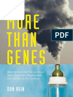More Than Genes What Science Can Tell Us About Toxic Chemicals Development and the Risk to Our Children