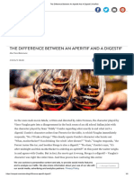 The Difference Between an Aperitif and a Digestif _ VinePair