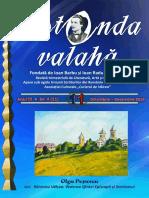 Rotonda Valahă, nr. 11, an 2018