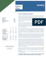 Note Valbiotis FR 172804