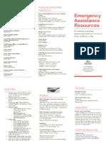 Crisis Resource Pamphlet