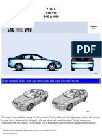 Volvo s40 v40 Owners Manual 2004