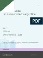 Múisca Latioamericana y Argentina