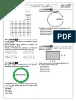 5ª P.D - 2016 (5ª ADA - 1ª Etapa - Ciclo III) - Mat. 9º Ano - Blog Do Prof. Warles (1)