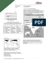 Exercicios Gabarito Geografia Geral Asia Quadro Natural
