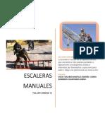 TALLER UNIDAD 14 Escaleras Manuales