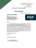Carta Notarial Imprimir