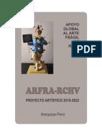 ARFRA-RCHV. Texto de Información