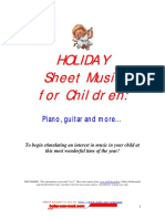 HOLIDAY Music for Children
