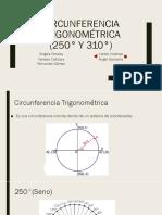 Circunferencia Trigonométrica de Fer Magistral El Mejor Ppt