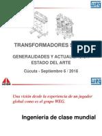 WTC - Actualizacion en Transformadores Secos - Cucuta - Septiembre 2018