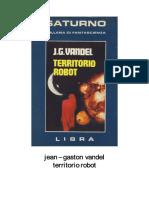 Territorio Robot - J.G. Vandel