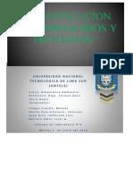 Informe 4 bioquímica untels
