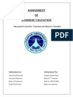 MCO 17006 Business Valuation.docx