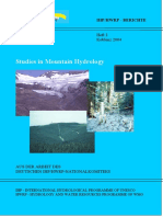 Studies in Mountain Hydrology 72