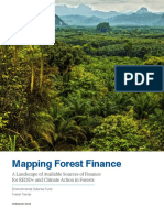 Mapping Forest Finance