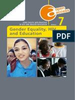 Genero Vih y Educacion