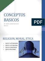 Etica Moral y Religion