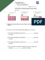 Ficha Actividades Matemáticas