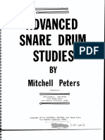 Mitchell Peters Advanced Snare Drum Studies