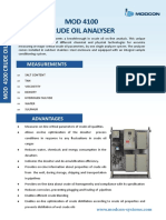 MOD 4100 Crude Oil Analyser