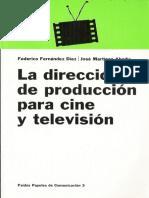La direccion de produccion para cine y television PARTE I.PDF