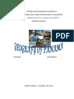 Trabajo Sobre La Geografía de Panama