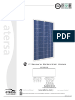 Atersa Photovoltaic Module a-140P