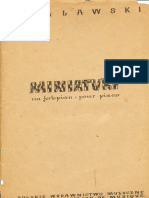 a.Malawski Miniatury Na Fortepian