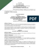 Bolivia Ley3058 Hidrocarburos2005