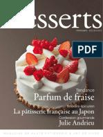 Tendance. Parfum de Fraise. Itinéraire Épicurien. La Pâtisserie Française Au Japon. Confession Gourmande. Julie Andrieu