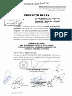 Ley de fortalecimiento de la autonomía de la federación deportiva nacional peruana del futbol