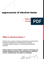 Applications of Electron Beam