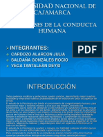 BASES BIOLOGICAS DE LA CONDUCTA - data.ppt
