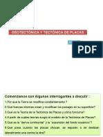 1º Clase - Geotectónica y Tectónica de Placas