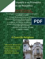 A Crise No Império e o Surgimento Da República Brasileira