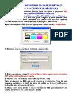 Impressoras - Como Ressetar o Contador Das Impressoras Epson