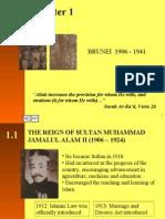 Chapter 1 (Brunei 1906 - 1941)