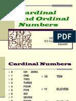 PPT Cardinal and Ordinal Numbers