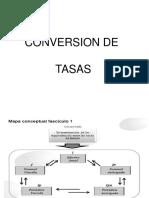 Conversion de Tasas